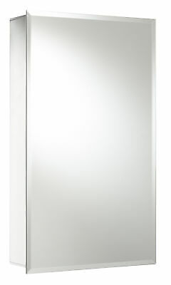 Jacuzzi 15 X26 Rectangle Surface Recessed Mirrored Medicine Cabinet
