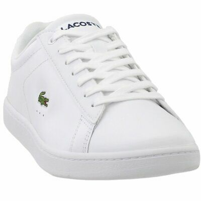 72b0d239142e LACOSTE CARNABY EVO 118 1 Womens Trainers Gold White New Shoes ...