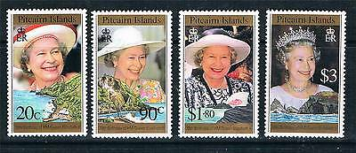 Pitcairn Is 1996 Queens 70th Birthday SG 493/6 MNH