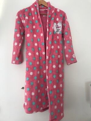 Girls Dressing Gown Me To You 11-12 Years Pink  <JJ9232
