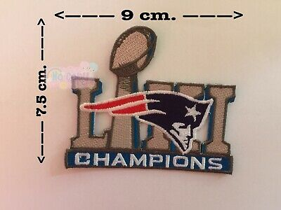 bd100ce793 New england patriots Liii champion Sport Patches Embroidery Iron on, Sew on.