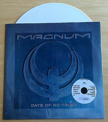 "Magnum - Days Of No Trust 12"" White Vinyl"