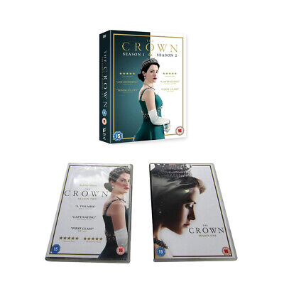 The New DVD : The Crown Season 1-2 Box Set and Sealed UK Region 2  Free Postage
