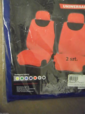 Seat Cover Front Vehicle Seat Covers Protective Cover Car Seat Blue Polyester