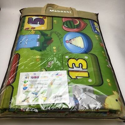 Baby Kid Toddler Water-Resistant Crawl Foam Soft Play Game Mat Carpet - Maboshi