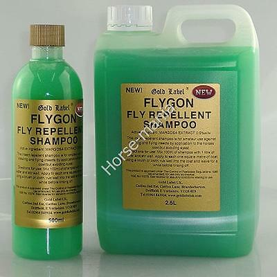 Gold Label Flygon Fly Repellent Shampoo 500Ml