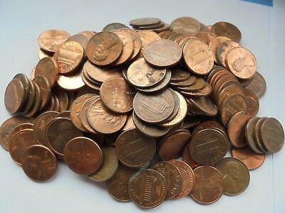 200 United States Lincoln One Cent Coins, Lots of these available..