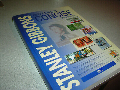 Stanley Gibbons secondhand  concise 2012 stamp catalogue