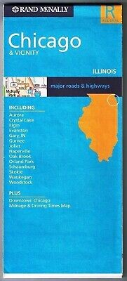 2004 RAND MCNALLY Road Map of Northeast Ohio - $3.99 | PicClick Detailed Road Map Northeast Illinois on rainbow road map, chicago area road map, northern indiana road map,