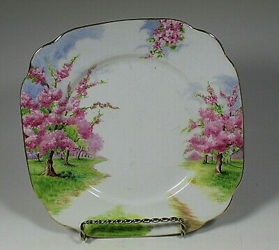 Vintage Royal Albert England BLOSSOM TIME Pattern Luncheon Plate