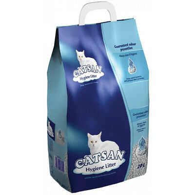 Catsan Hygiene Plus Cat Litter - 20 Litre