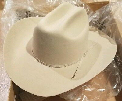 11ae810ec991b4 Stetson Hat Size 7.5 D4 Ranch Tan Cowboy SF 0575 D440 New w/Box 4