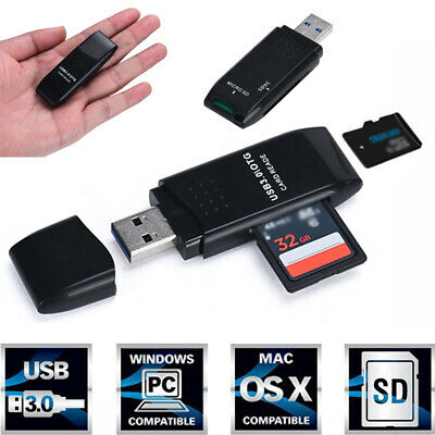 High Speed New Usb 5gbps Reader Adapter Micro Black Appearance Card Tf Mini 3.0