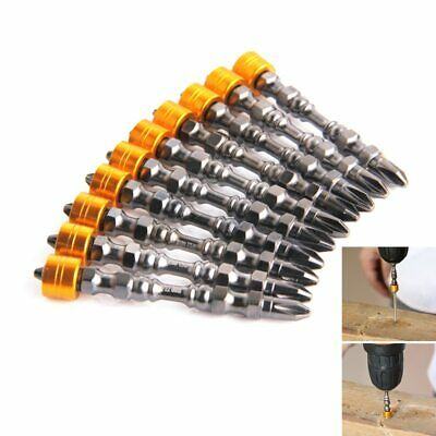 Magnetic Bit Set 65mm Electronic Screwdriver Bits Double Head Drywall Screws