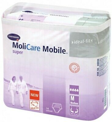 Molicare Mobile Médium T2 Super Absorbante Sachet de 14