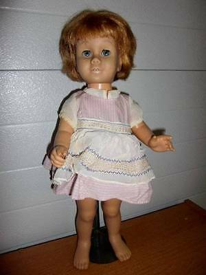 """Mattel ~ Vintage HP Vinyl 1959 Prototype Chatty Cathy Doll, First Production 19"""""""