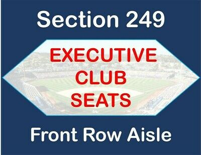 6/20 LA Dodgers vs SF Giants - 2 Tickets - Executive Club - BEACH BAG GIVEAWAY!!