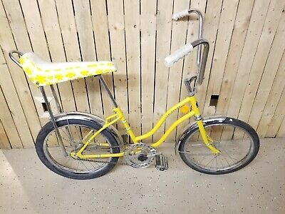 Original 1960s John Deere Banana Seat Bicycle High Rise Handlebar Bike Collector