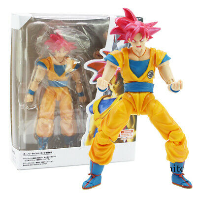 SHF S.H.Figuarts Dragon Ball Super Saiyan God Son Goku Red Hair Gokou Dragon-Bal