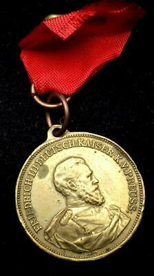 1888 Friedrich III German Medal Regierungs Antritt