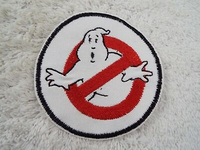 """GHOSTBUSTERS 3-3/4"""" Embroidery Iron-on Custom Patch (E2)"""