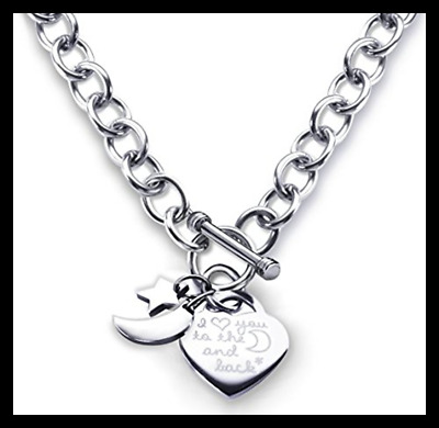 71304bdec4f CHARM NECKLACE HEART Toggle I Love You To The Moon and Back ...