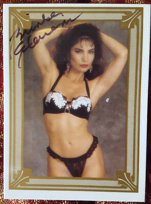 BRINKE STEVENS autographed SCREAM QUEENS trading card #1
