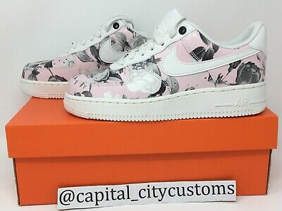 promo code 53b80 65113 Wmns NIKE AIR FORCE 1  07 LXX Floral AO1017 102 Summit White Pink