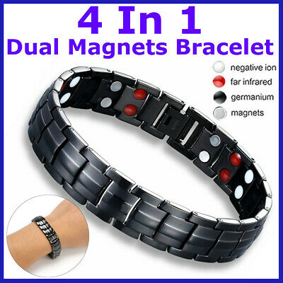 Magnetic Health Bracelet Carpal Tunnel Arthritis Bio Therapy Chronic Pain
