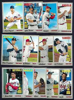 2019 Topps Heritage Sp Short Print High Number Single Complete Your Set You Pick