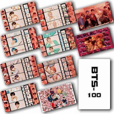 KPOP BTS Bangtan Boys Abulm Map Of The Soul : Persona Crystal Card Stickers