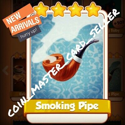 Smoking Pipe :- Coin Master ( Fastest Delivery ) Card Seller