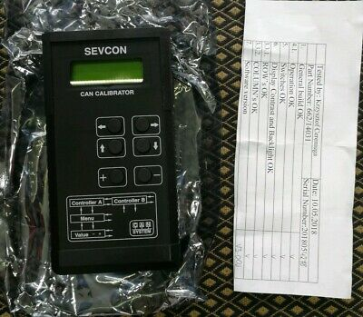 SEVCON CAN CALIBRATOR NO CABLES WIRES 662/14031 forklift vehicle diagnostic