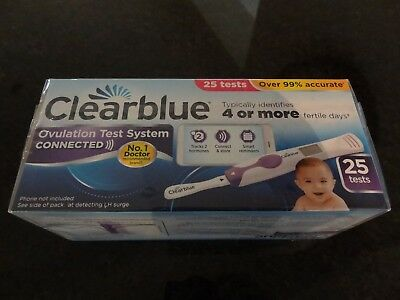 Clearblue Ovulation Test System Connected - 25 Tests new