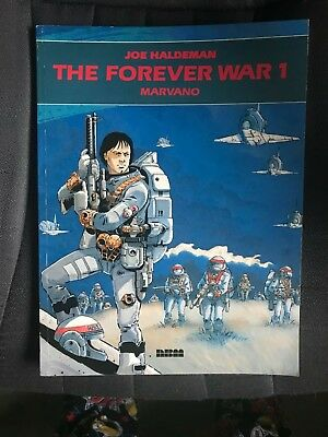 Joe Haldeman The Forever War Book 2 Illustrated By Marvano Rare 1988 Edition