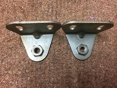 MGB GT V8 engine 1 Pair of Air Cleaner Brackets to Valve Cover BHH 1152 New,