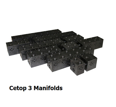Cetop 3 Steel Manifold No RV Cavity