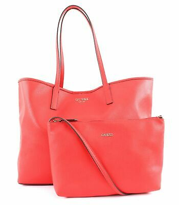 GUESS BORSA A Tracolla Vikky Large Tote Red Multi EUR 116
