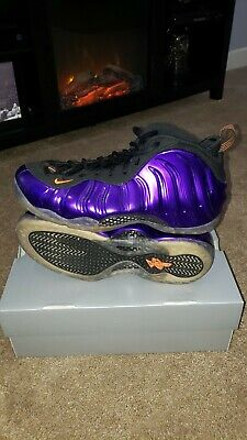 0ee2e793bd6 Nike Air Foamposite One Phoenix Suns Size 11 Electro Purple Orange 314996  501