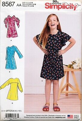 SIMPLICITY IT'S SEW Easy Sewing Patterns Child Girls Boys
