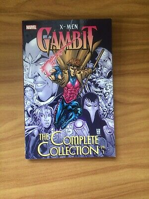 X-men: Gambit: The Complete Collection Vol. 1 by Fabian Nicieza, Tom DeFalco...