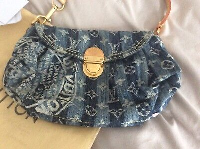 aaad70554ef2e Louis Vuitton Mini Pleaty Denim Sondermodell limitiert TOP !
