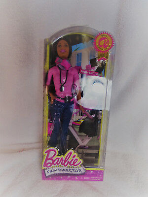 Barbie Film Director Doll 2015 Career Of The Year Mattel CCP53 New/Sealed in Box
