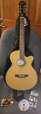 Epiphone PR-4E ACOUSTIC/ELECTRIC GUITAR with Bag