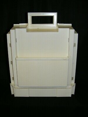 Vtg. 1983  >>>Singer HOMECHEST Sewing CADDY Carrier Holder Crafts Chest