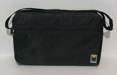 Music Conductor Series 30 Cassette Carrying Case Black Nylon With Front Pocket