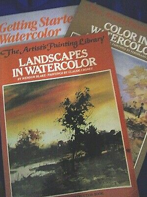 Instruction Books & Media 1972 Complete Guide To Acrylic Painting Wendon Blake Hbdj Ex-library In Short Supply Crafts