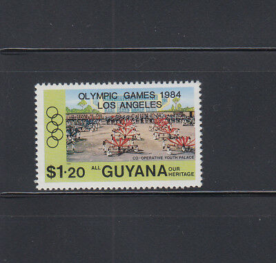Never Hinged 1993 Donald Duck Guyana Block363 complete Issue Unmounted Mint