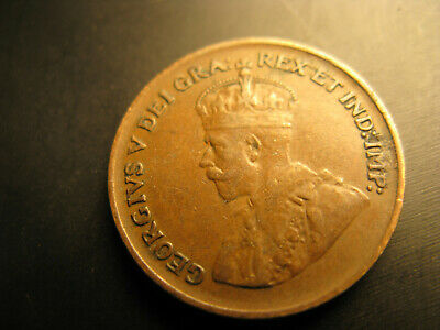 Canada 1929 Low 9 Variety Nice Grade Small Cent Penny.
