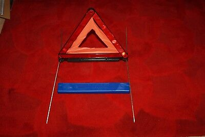 Bmw Warning Triangle ( Genuine ) Part Number 1095457 - Brand New & Boxed